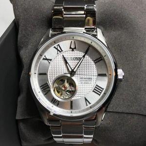 Bulova Wilton Stainless Steel Watch NWT